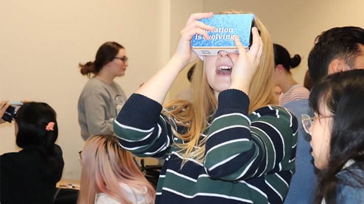 Immersive learning is changing the way psychology students learn about the brain - UBC Department of Psychology